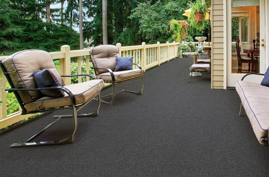 Oceanside Indoor Outdoor Carpet - Smoke