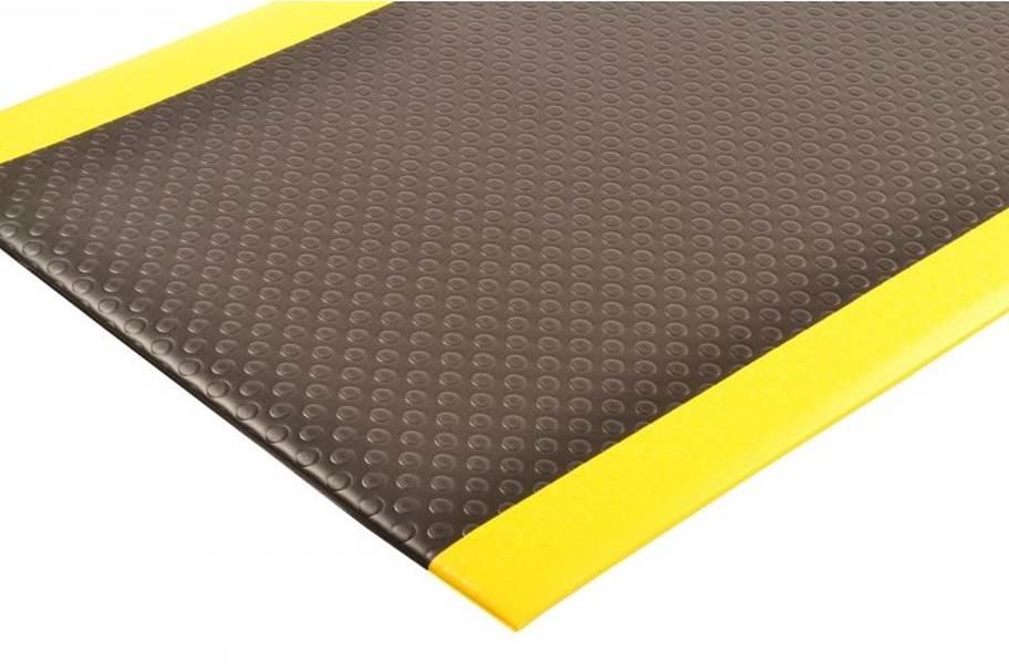 NoTrax Bubble Sof-Tred Anti-Fatigue Mat - Black/Yellow