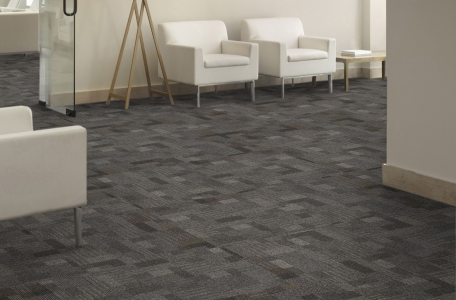 Mohawk Cityscope Carpet Tile - Historical Row