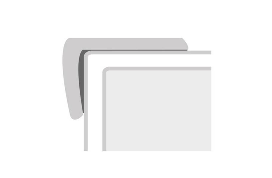 "COREtec Pro+ HD 9 1.16"" x 2.12"" x 94"" Stair Cap"
