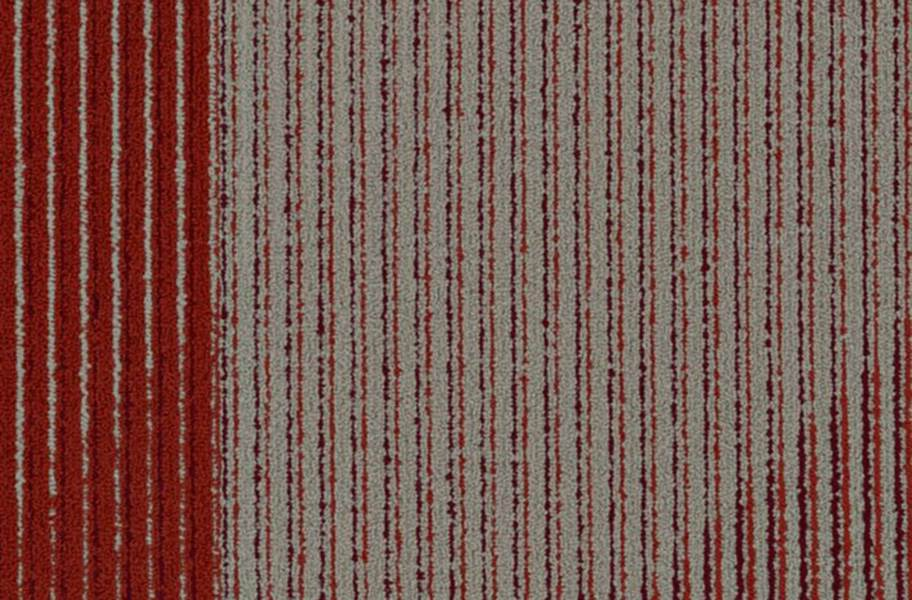 Shaw Block By Block Carpet Tiles - Red Hot