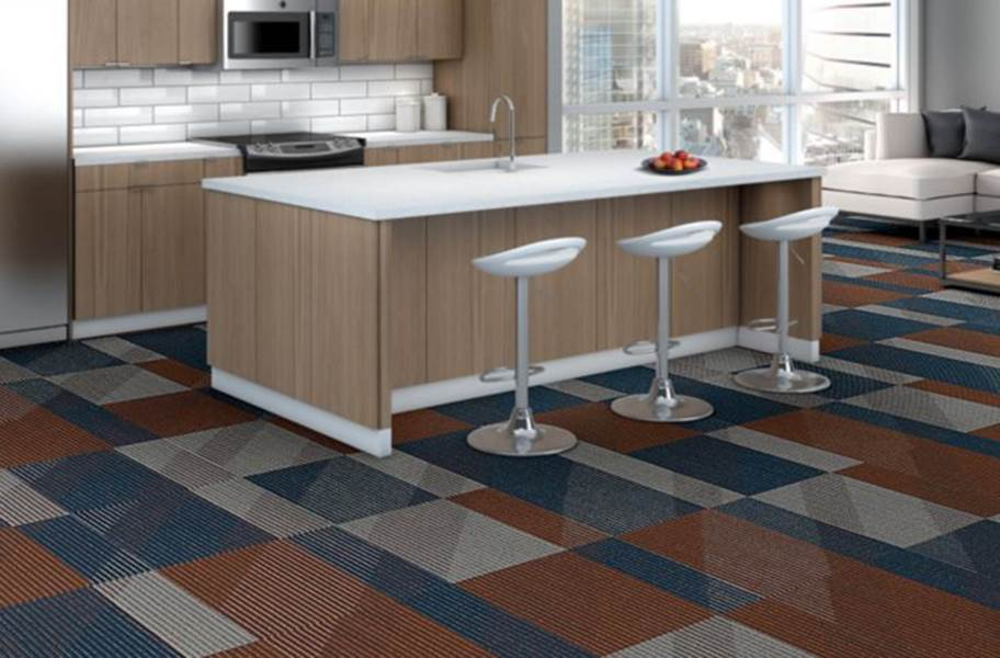 Shaw Block By Block Carpet Tiles - Perfect Match