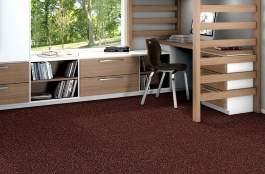 Shaw Knot It Carpet Tile - Loop