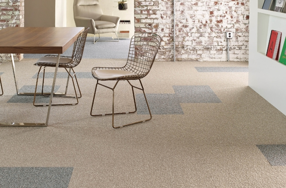 Shaw Knot It Carpet Tile - Cord, Tie