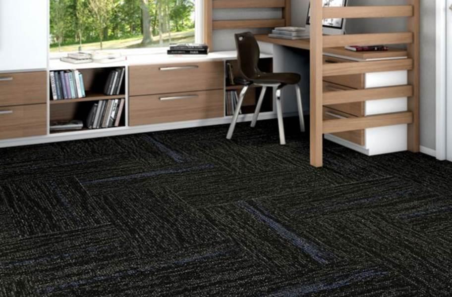 Shaw String It Carpet Tile - Slub