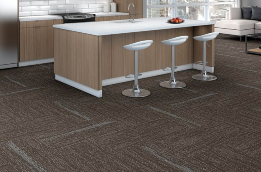 Shaw String It Carpet Tile - Tie