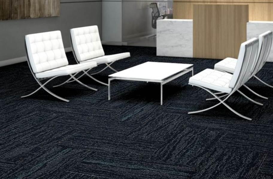 Shaw String It Carpet Tile - Chain