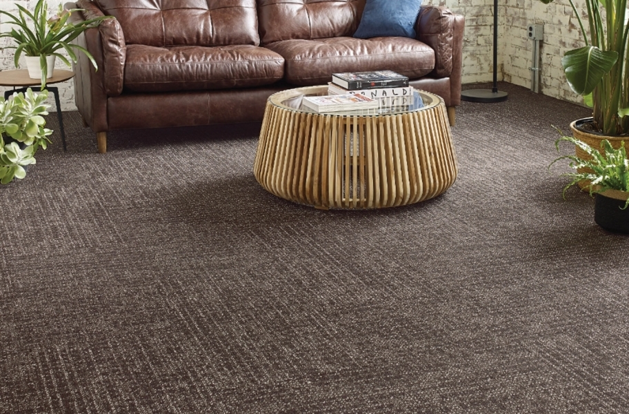 Shaw Weave It Carpet Tile - Twine