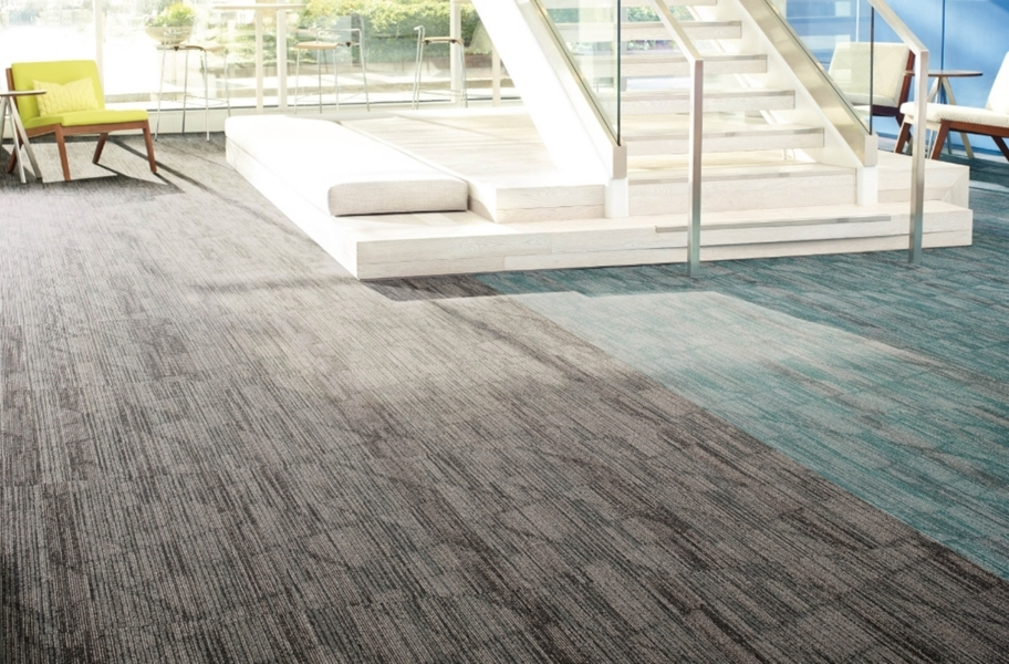 Shaw Visionary Carpet Tiles - Shadowy, Musing