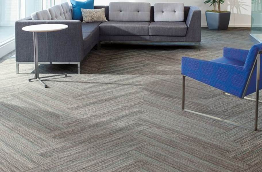 Shaw Stellar Carpet Planks - Abstract