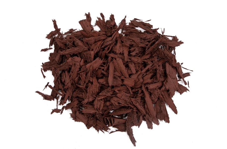 Rubberific Rubber Mulch - Bulk - Red