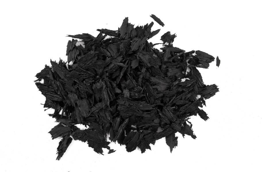 Rubberific Rubber Mulch - Bulk - Black
