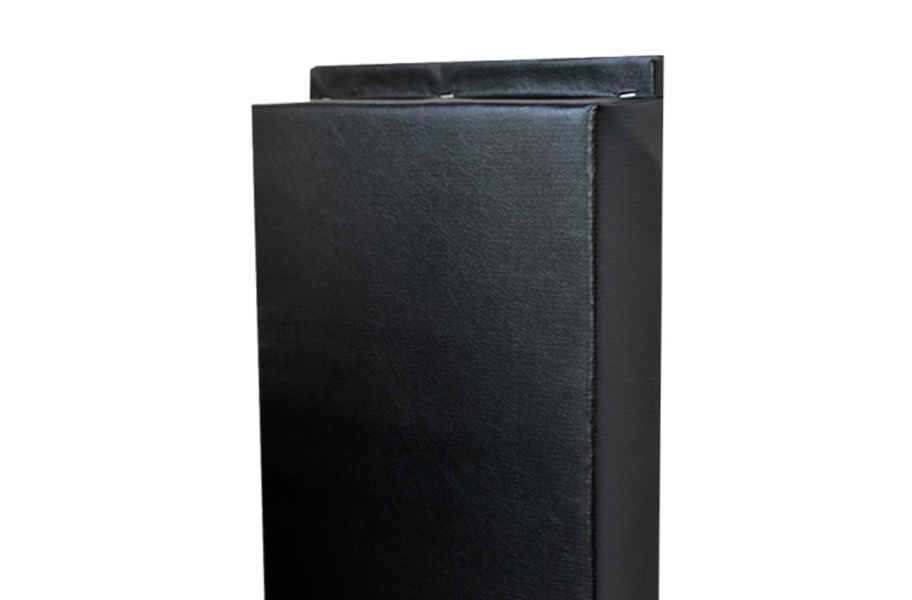 2' x 7' Wall Pads - Black