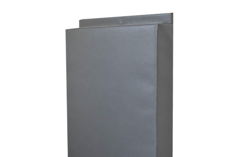 2' x 7' Wall Pads - Gray