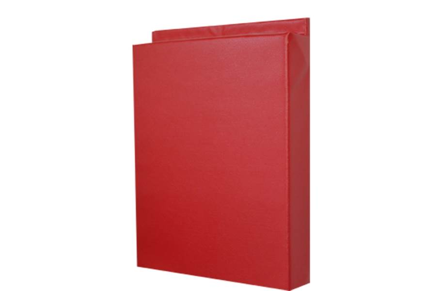 2' x 7' Wall Pads - Red