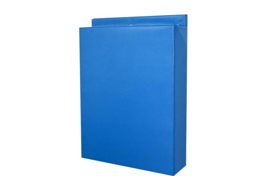 2' x 7' Wall Pads - Navy Blue
