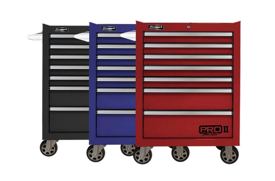 Homak Pro II Roller Cabinet - 27