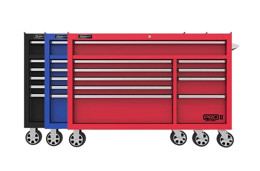 Homak Pro II Roller Cabinet - 54