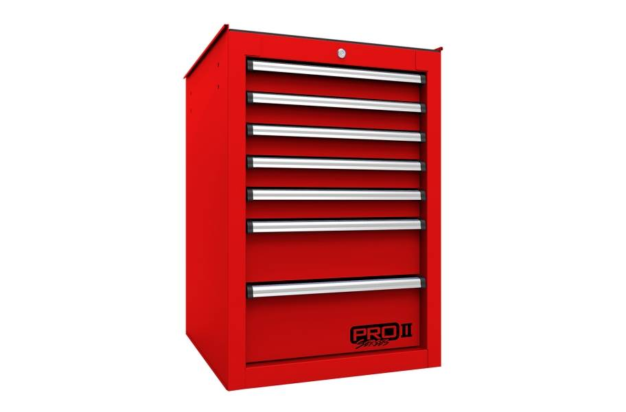Homak Pro II 7-Drawer Side Cabinet