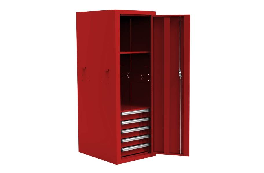 Homak Pro II 5-Drawer Side Locker