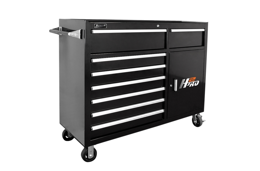 Homak H2Pro Roller Cabinet - 56