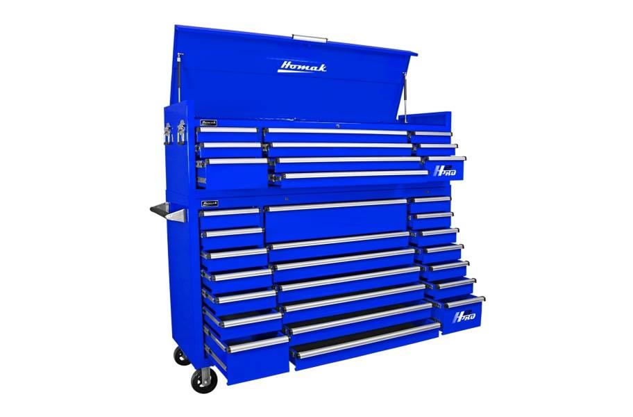 Homak H2Pro Roller Cabinet Combo - 72