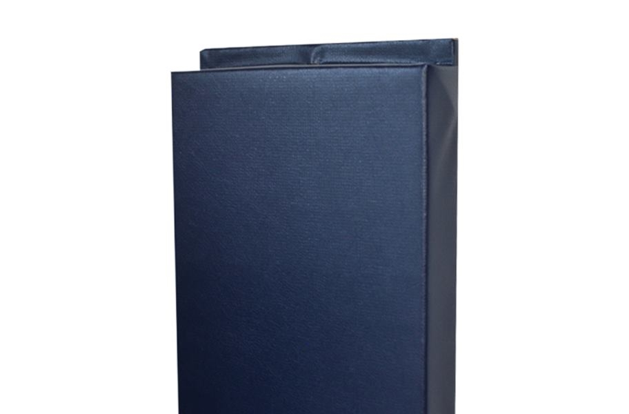 4'-Tall Wall Padding - Navy Blue