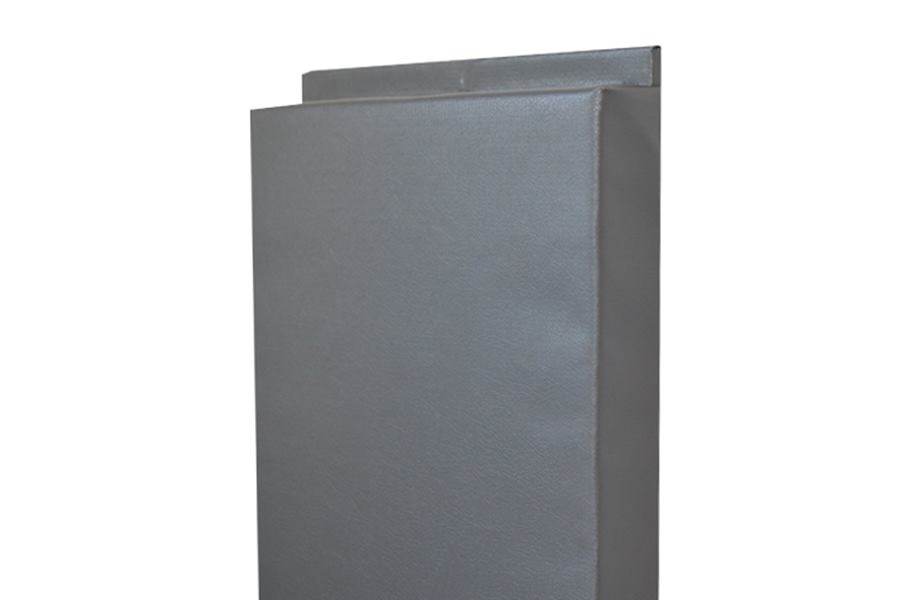 4'-Tall Wall Padding - Gray