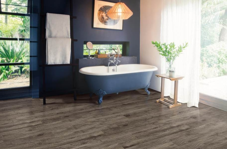 Mohawk Batavia II Plus Luxury Vinyl Planks - Peppercorn