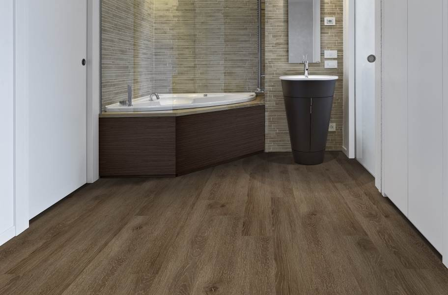 Mohawk Batavia II Plus Luxury Vinyl Planks - Smokey Grey