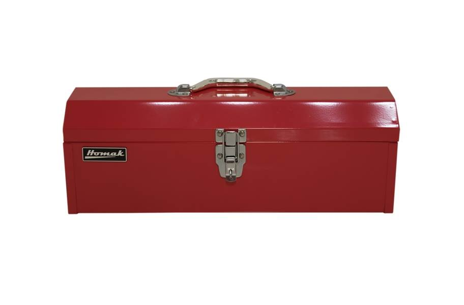Homak Steel Hip Roof Hand Carry Toolbox