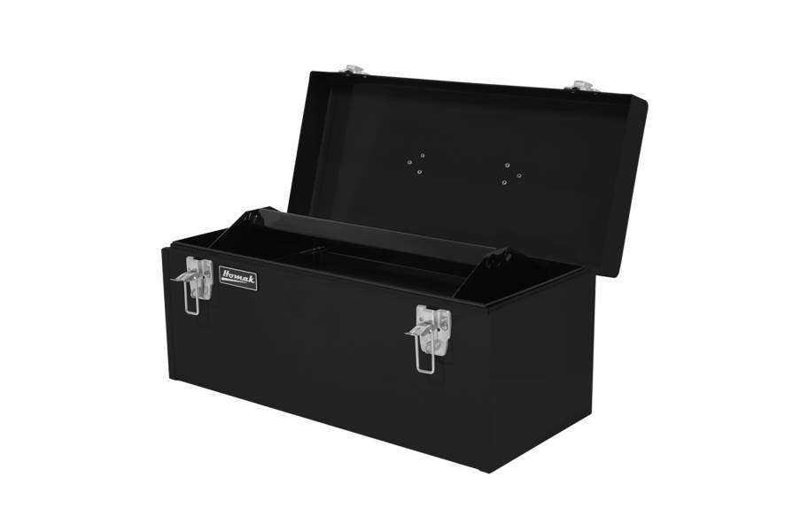 "Homak 20"" Flat Top Steel Hand Carry Toolbox"