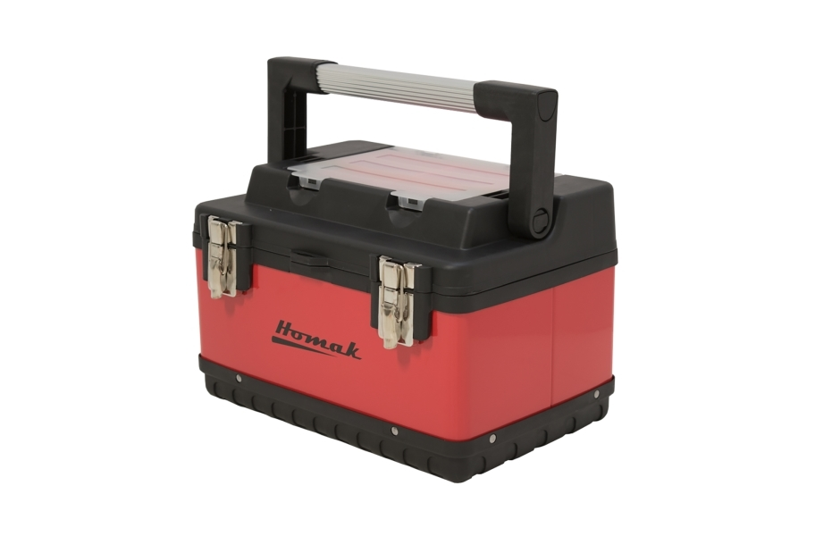 Homak Metal & Plastic Hand Carry Toolbox