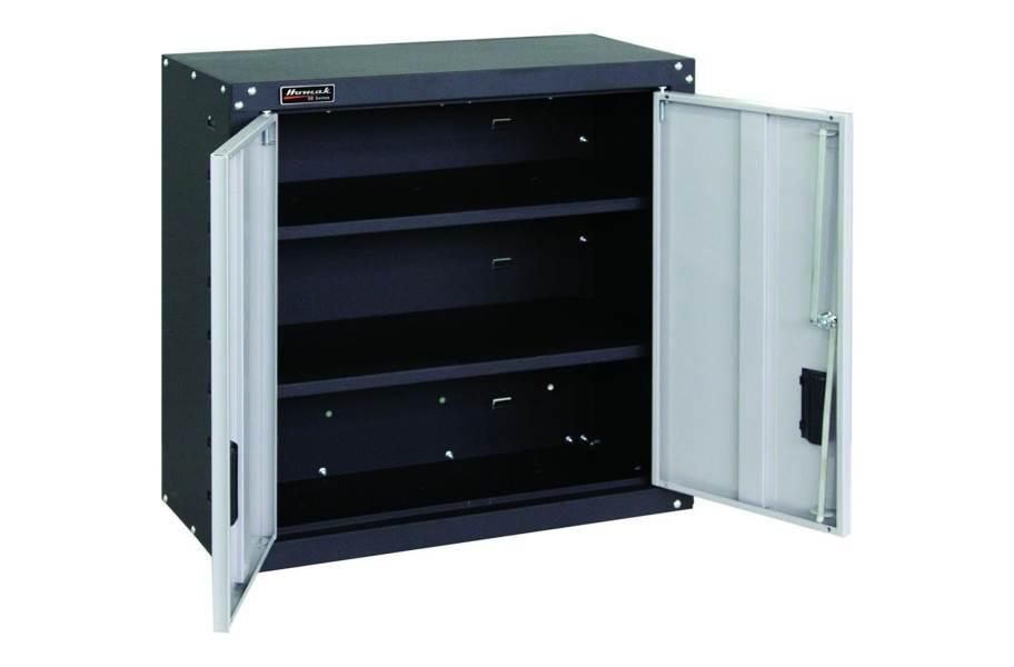 Homak 2-Door Wall Cabinet with Shelves