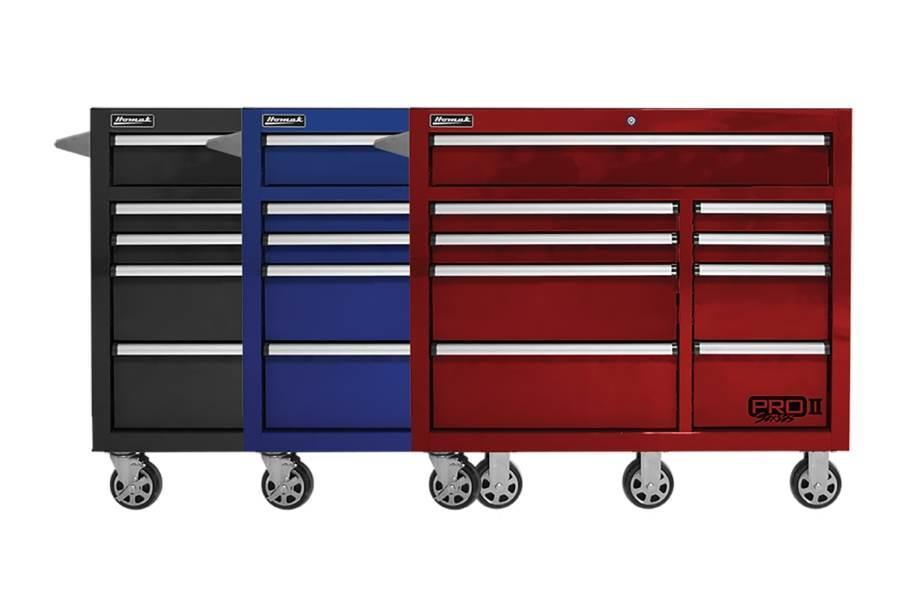 Homak Pro II Roller Cabinet - 41