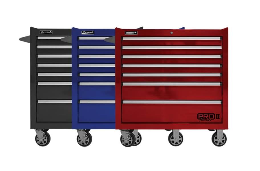 Homak Pro II Roller Cabinet - 36