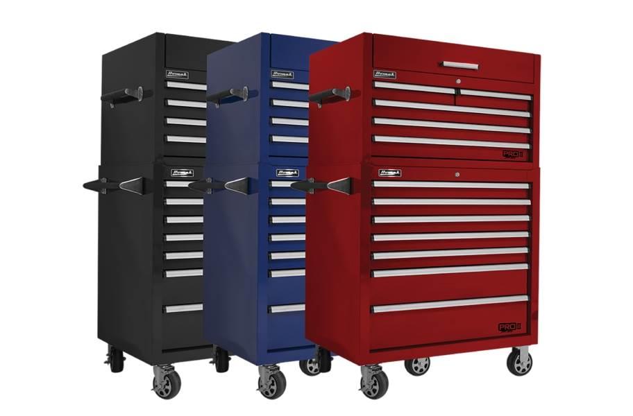 Homak Pro II Roller Cabinet Combo - 36
