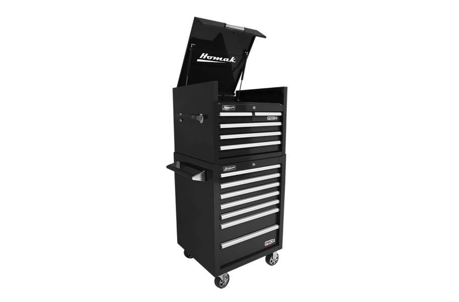 Homak Pro II Roller Cabinet Combo - 27
