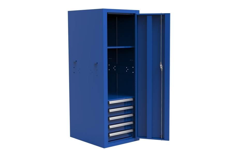 Homak Pro II 5-Drawer Side Locker