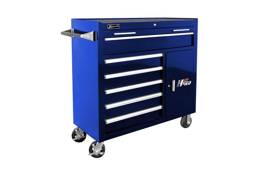 Homak H2Pro Roller Cabinet - 41