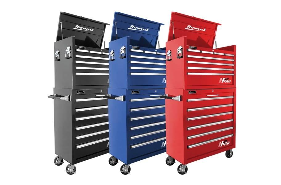 Homak H2Pro Roller Cabinet Combo - 36