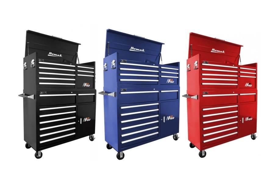 Homak H2Pro Roller Cabinet Combo - 56
