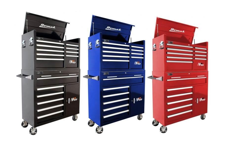Homak H2Pro Roller Cabinet Combo - 41