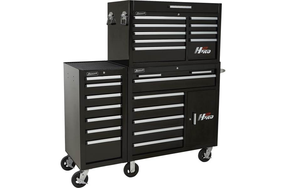H2Pro Series 7-Drawer Side Cabinet - **Top & bottom chest sold separately