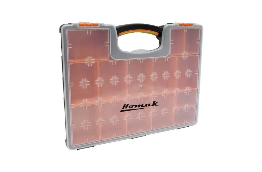 Homak Plastic Organizers w/ Removable Bins - 22 Bin