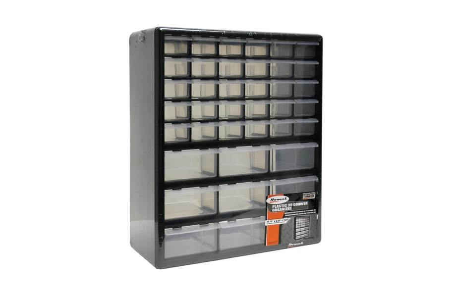 Homak Parts Organizers w/Drawers - 39 Drawer