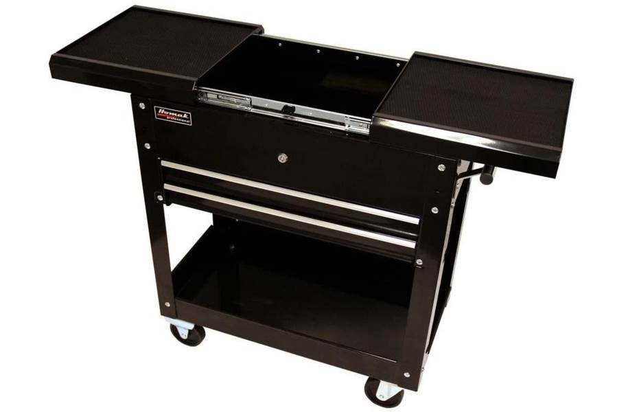 Homak Pro 2-Drawer Slide Top Service Cart