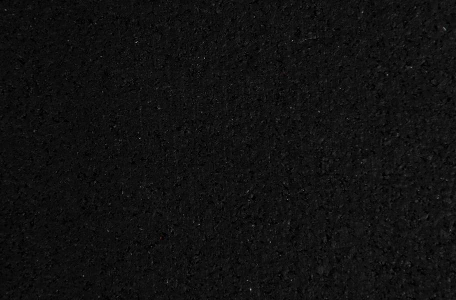 "1/4"" TRANR 3' x 6.5' Rubber Mats - Black"