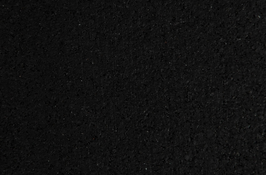 "1/4"" TRANR 3' x 6.5' Rubber Mats - Black"