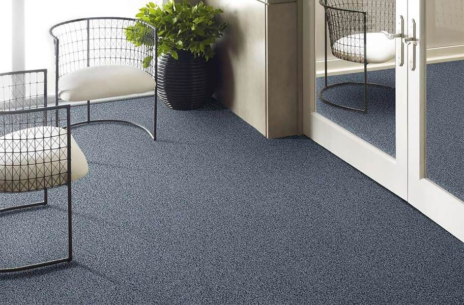 Floorigami Scandi Chic Carpet Plank - Denim Blue